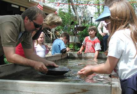 Panning for Gold at the History Center